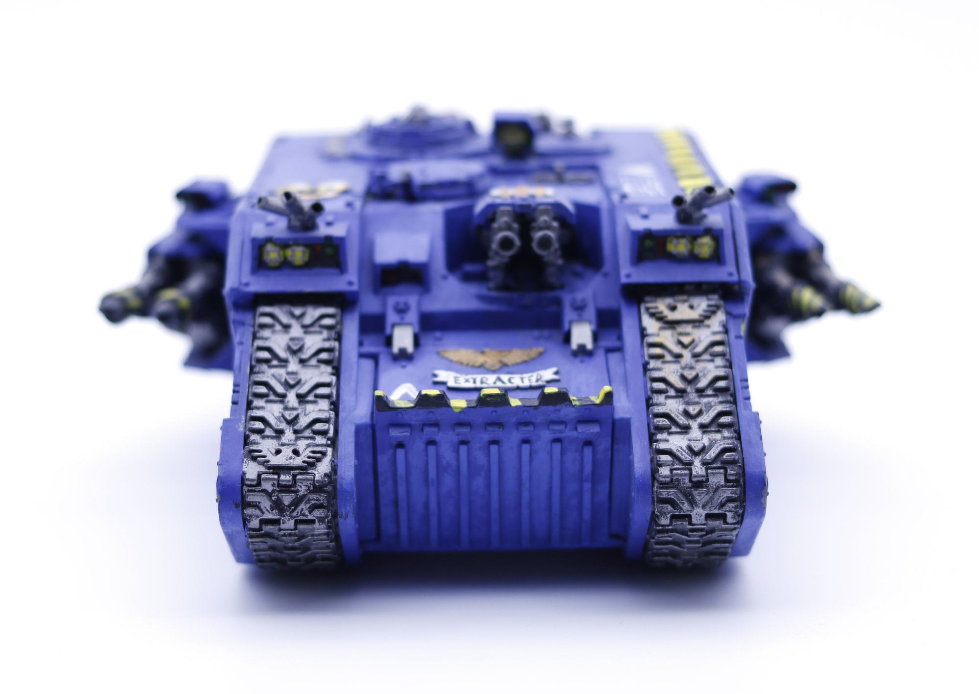Land Raider - Macro photography practice